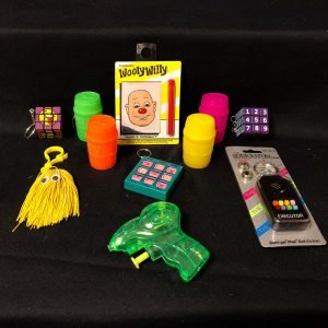 assorted games and toys